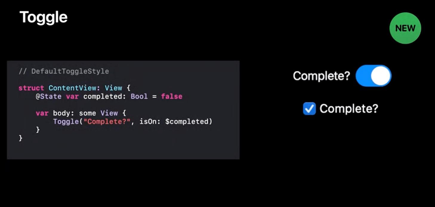 使用 SwiftUI 让开发者可以通过相同的代码在不同平台上获取最佳显示效果