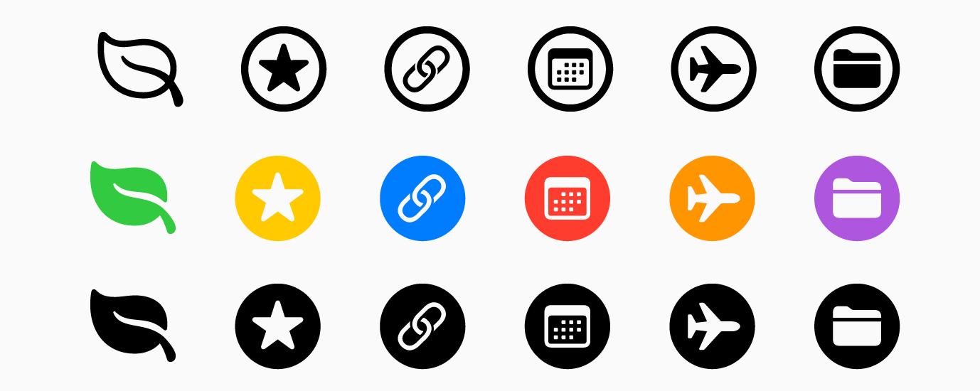 更加丰富多彩的 SF Symbols 登陆 Mac 平台